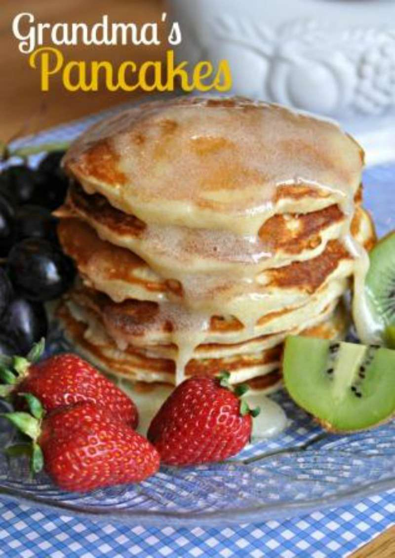 BEST EVER Grandma's Pancakes and Waffles