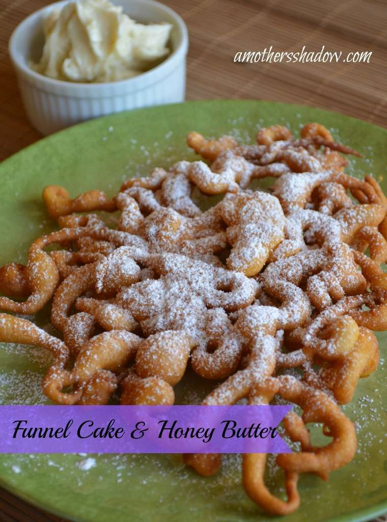 Funnel Cake and Honey Butter