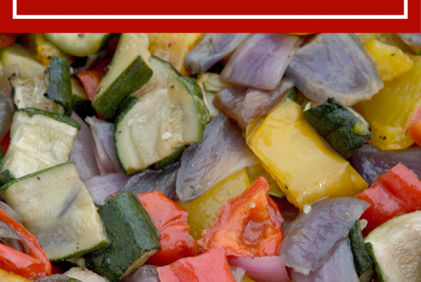 Homemade Roasted Bell Peppers