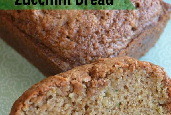 Tasty Moist and tender zucchini bread