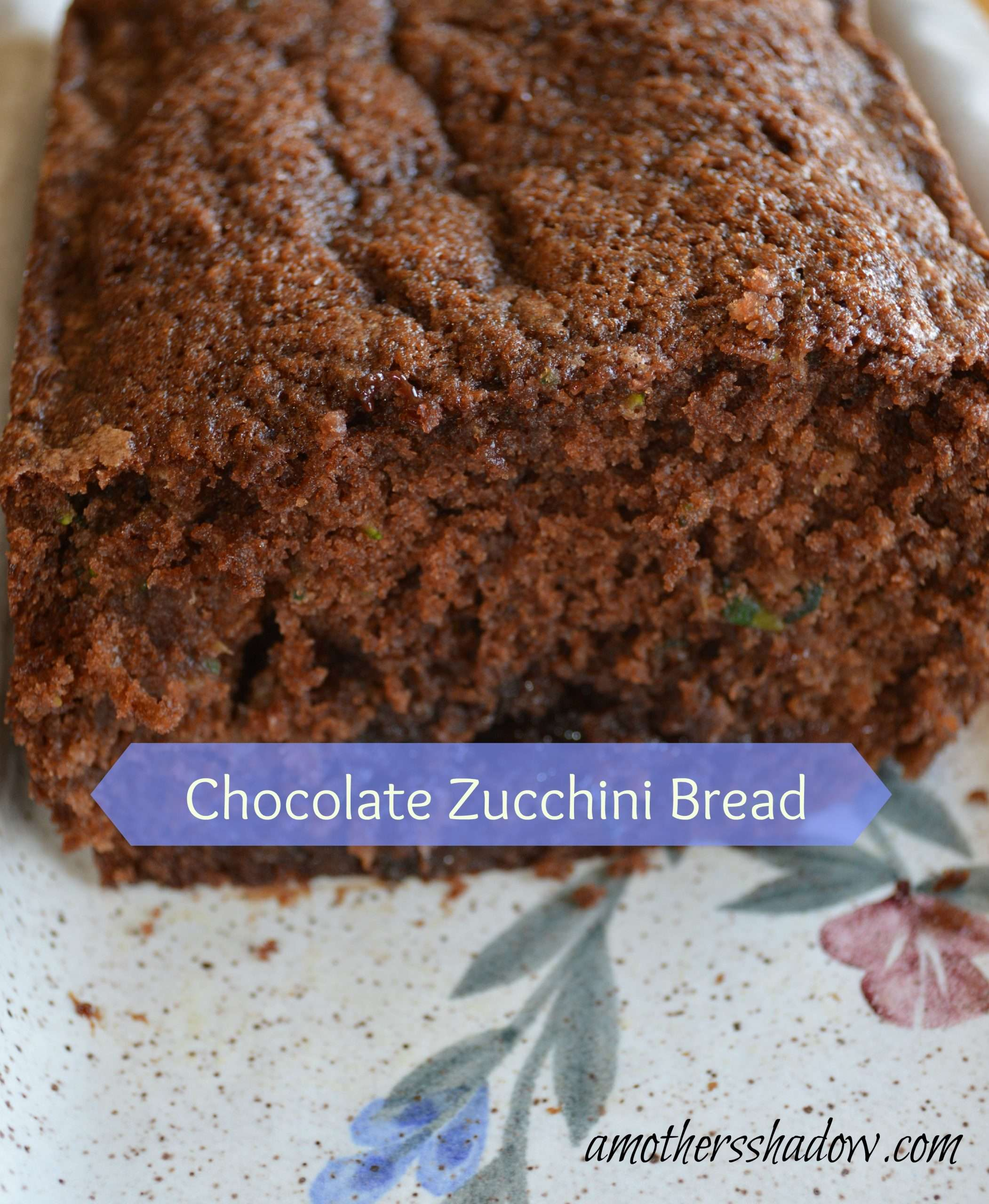 Best Ever Chocolate Zucchini Bread