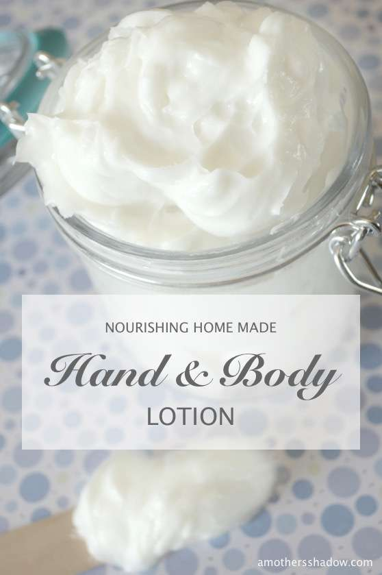 Easy DIY Nourishing Hand and Body Lotion