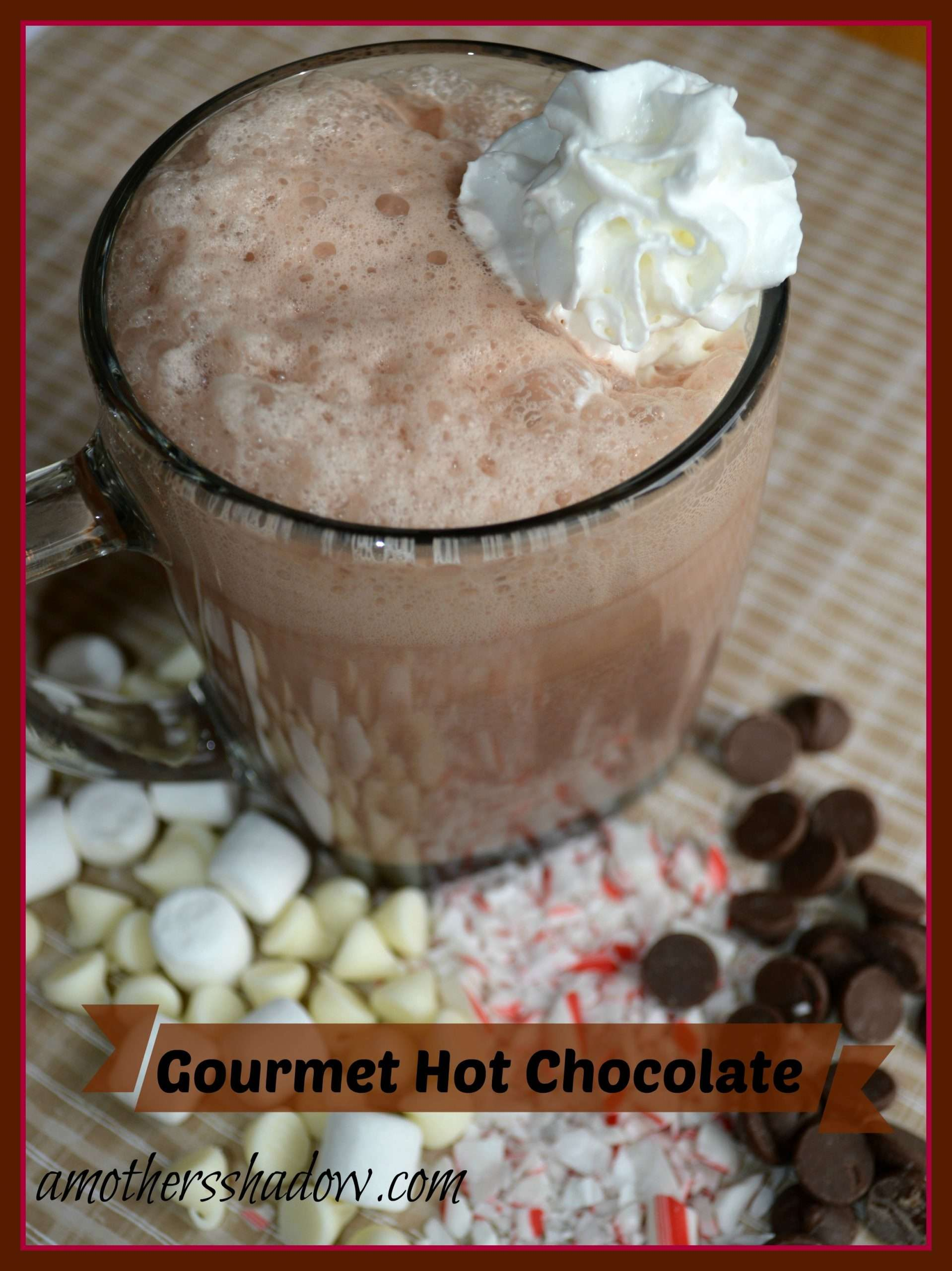 Gourmet Homemade Hot Chocolate
