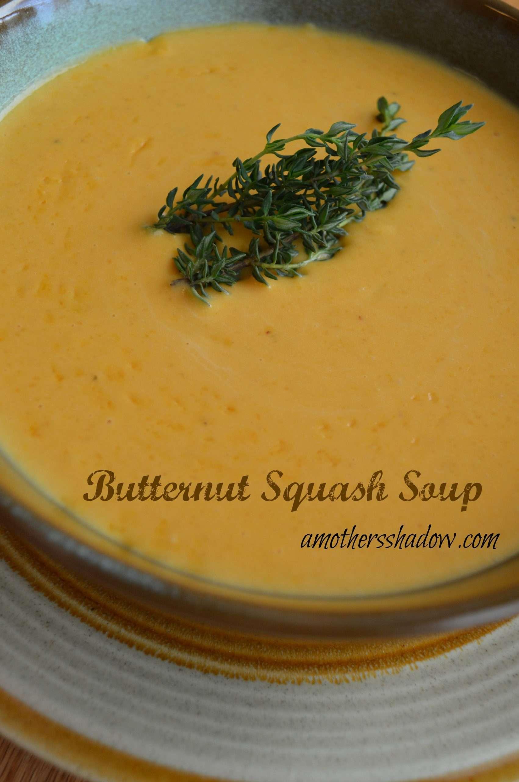 AMAZING Creamy Butternut Squash Soup