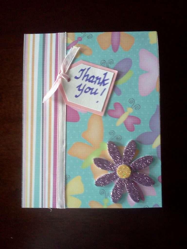 DIY Thank You Card