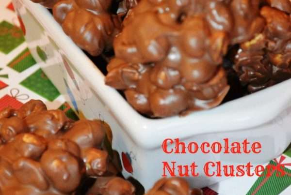 Chocolate Covered Nut Clusters