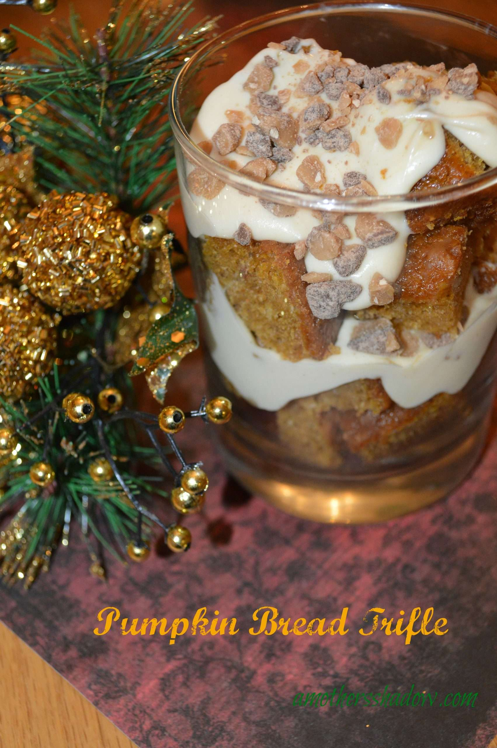 Amazing Pumpkin Creamy Toffee Trifle