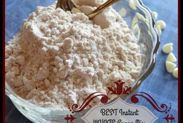 Homemade White Cocoa Mix