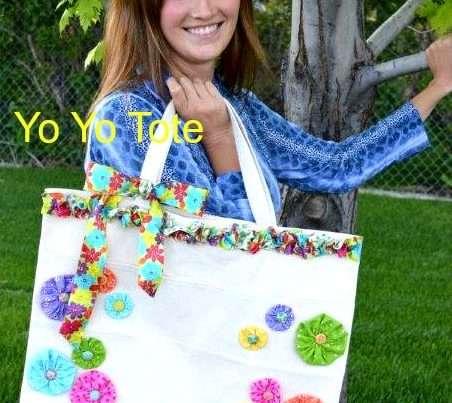 DIY Yo Yo Tote