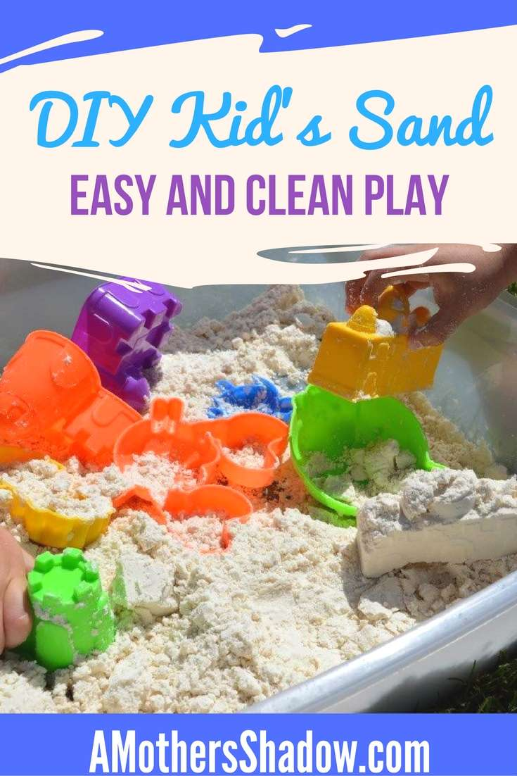 DIY Kids Play Sand