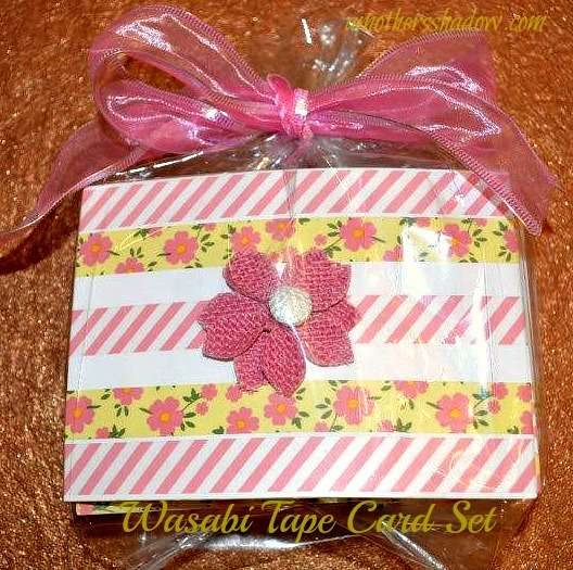 Washi Tape Decorated Cards