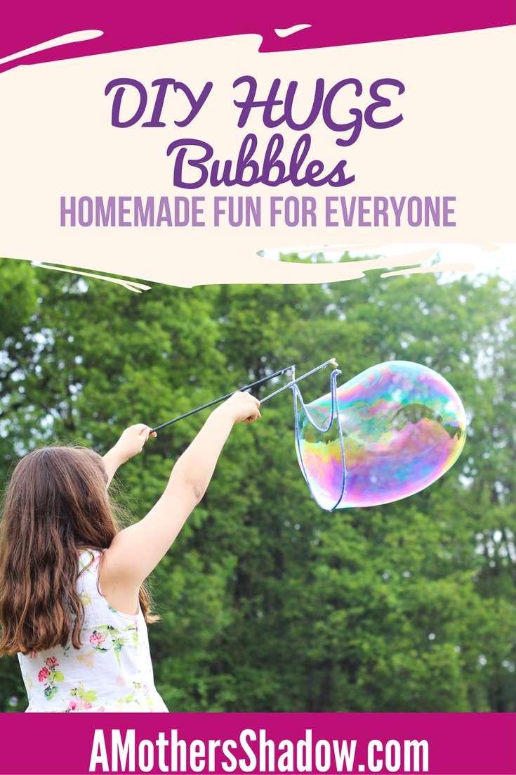 BEST DIY Homemade Bubbles
