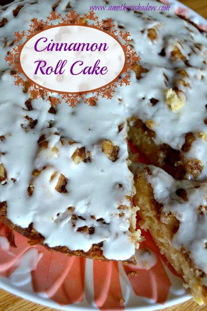 Easy Cinnamon Roll Cake