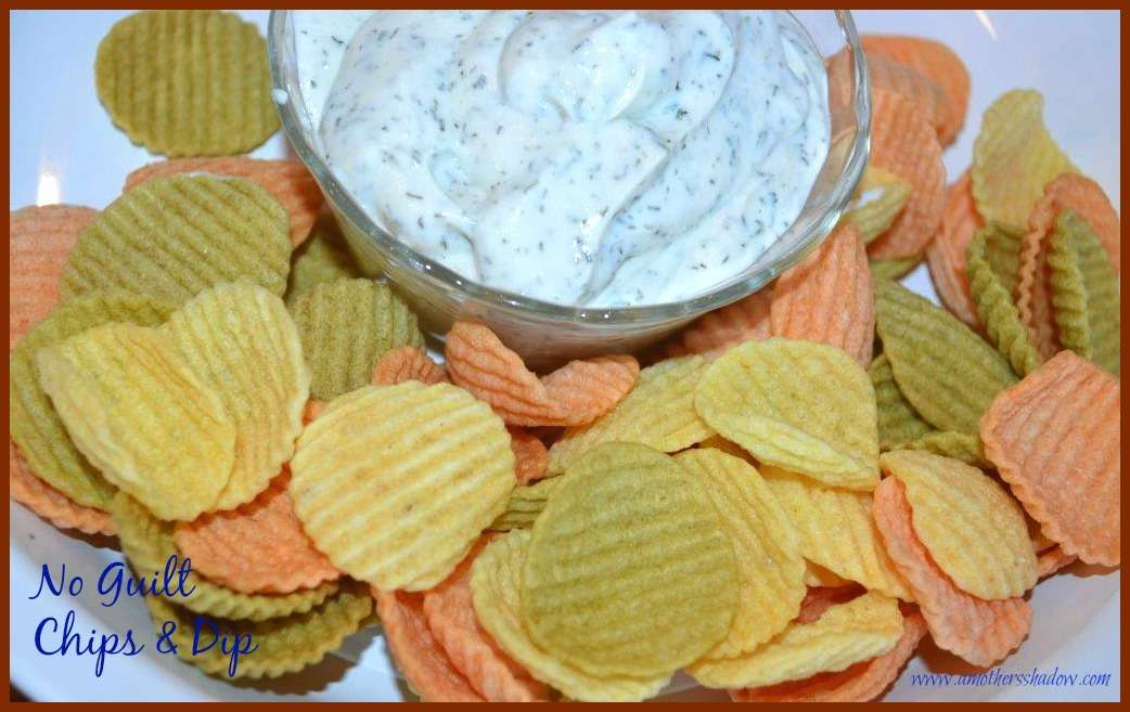 No Guilt Chips and Dip