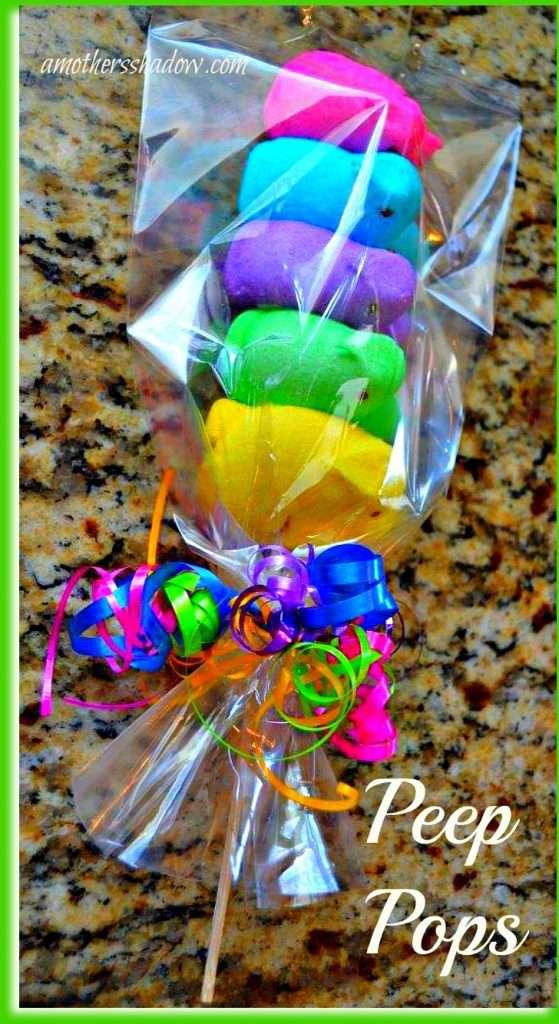 Peep Pops for Easter