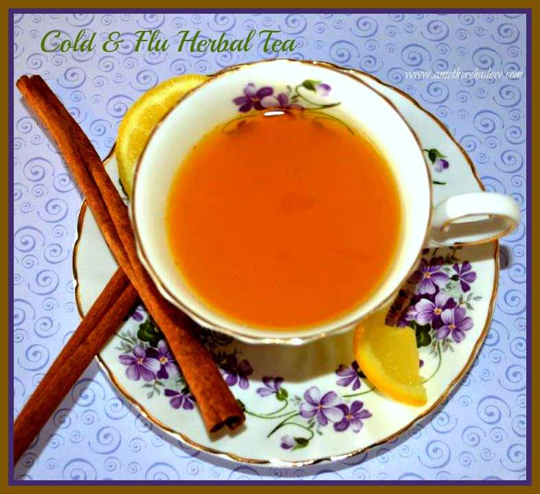 Homemade Cold and Flu Fighting Herbal Teas