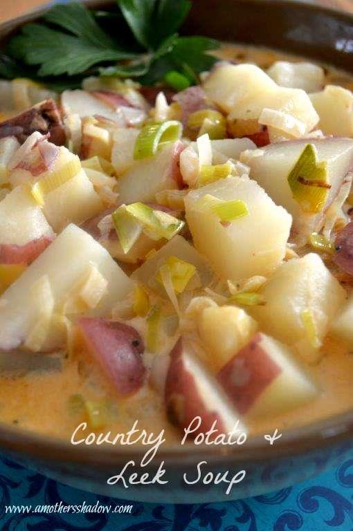 Country Potato & Leek Soup