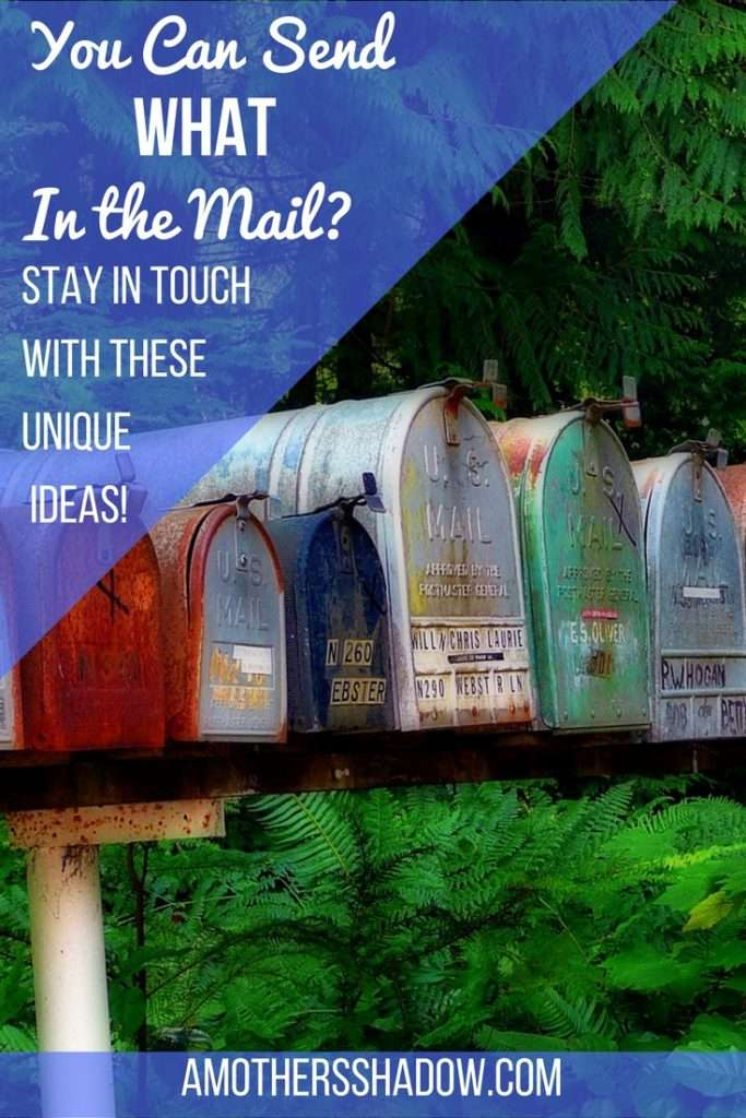 Staying connected by sending gifts in a unique way through the mail