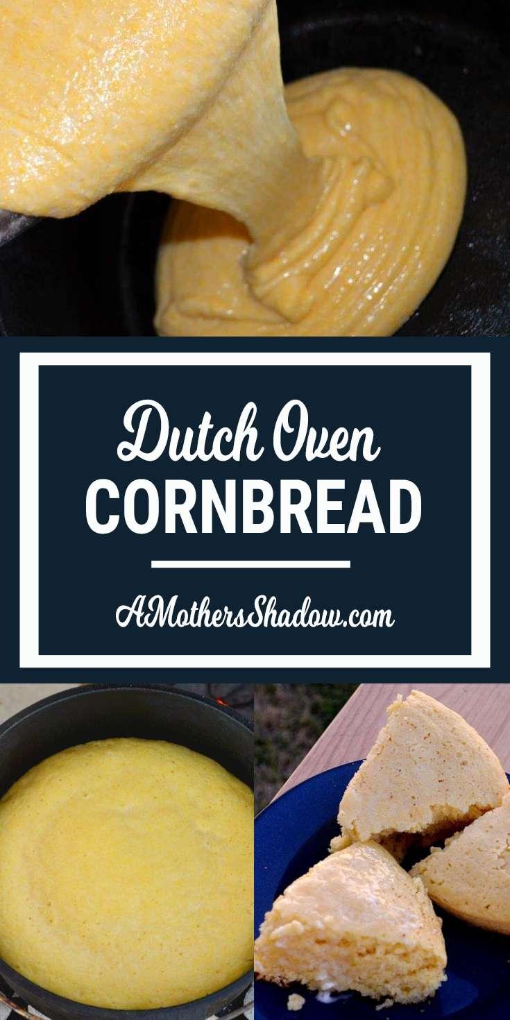 Dutch Oven Best Corn Bread