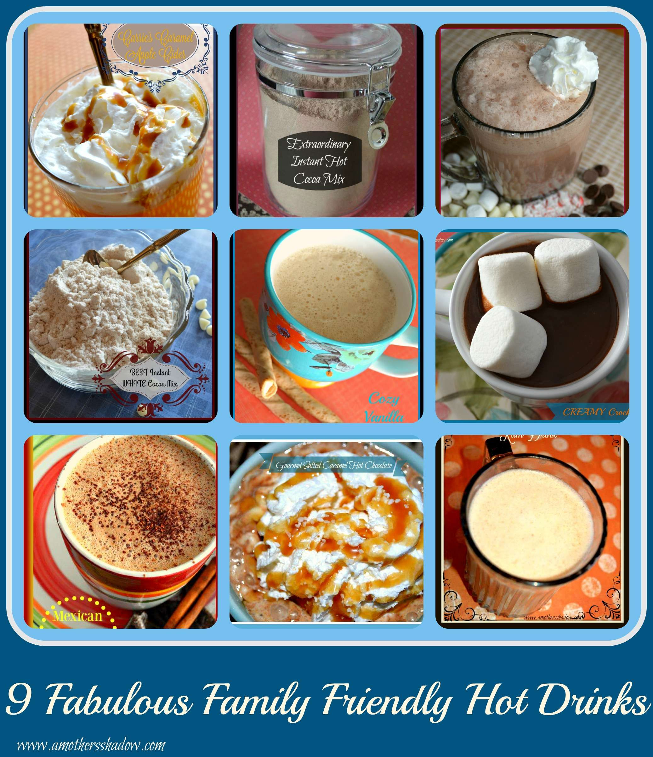 BEST Non Alcoholic Family-Friendly Hot Drinks