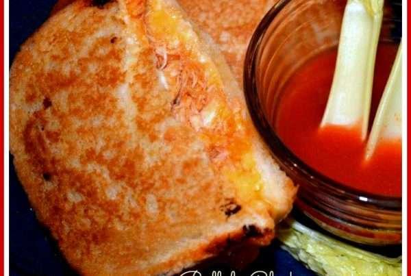 Buffalo Chicken & Grilled Cheese Sandwich