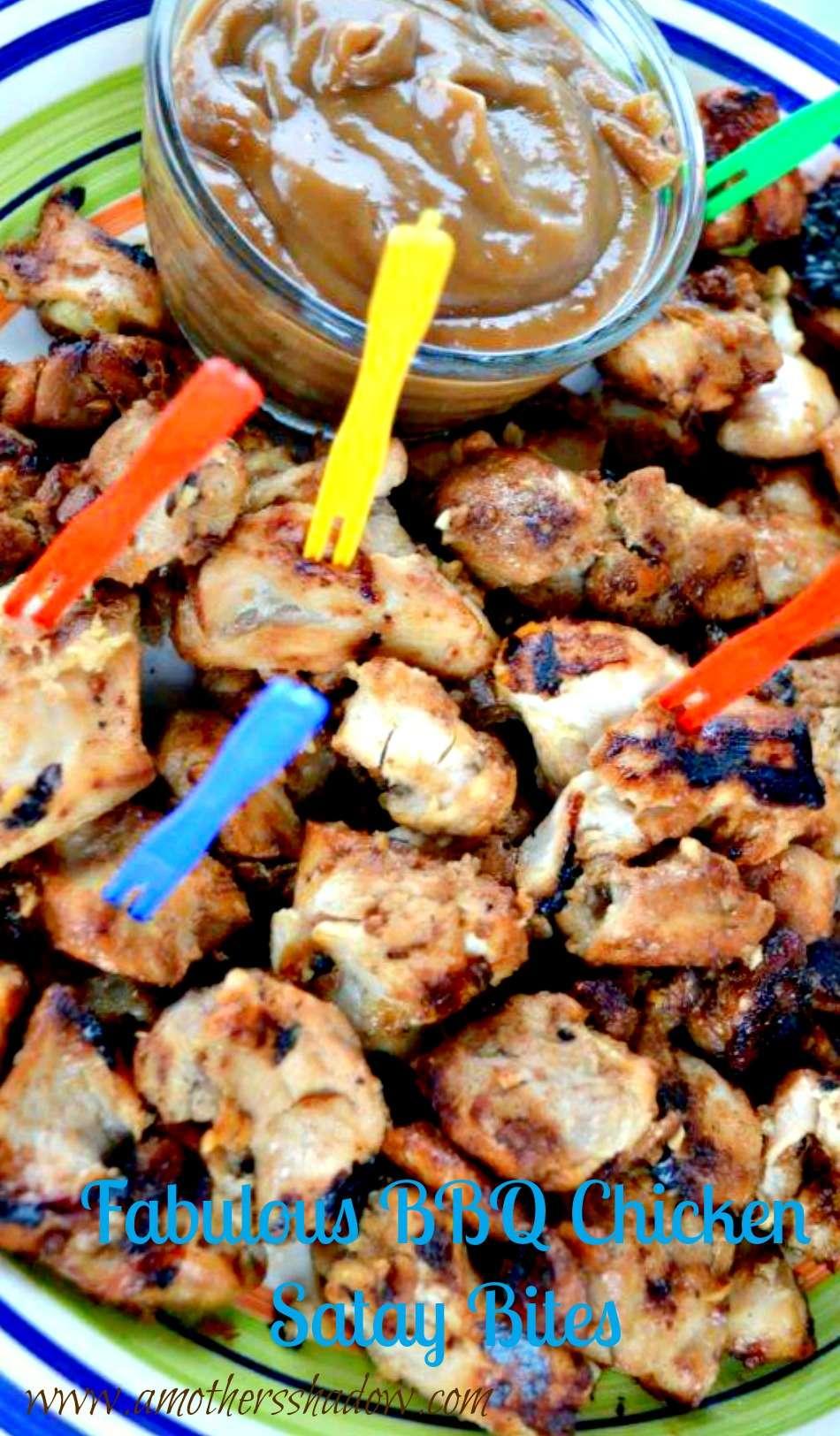 Fabulous BBQ Thai Chicken Satay Bites