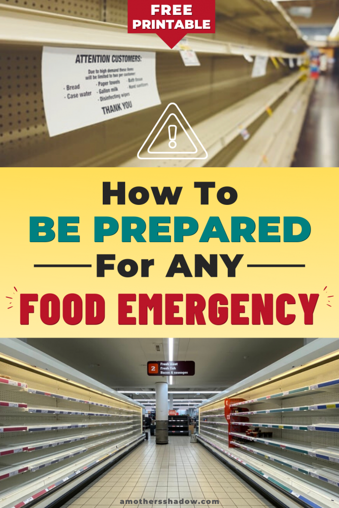 How To Build A 2 Week Food Storage Supply