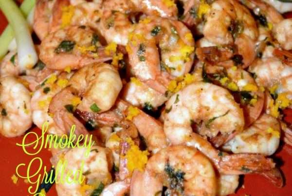 BBQ Smokey Orange Shrimp