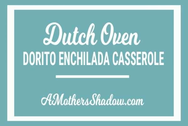 Enchilada Casserole in the Dutch Oven