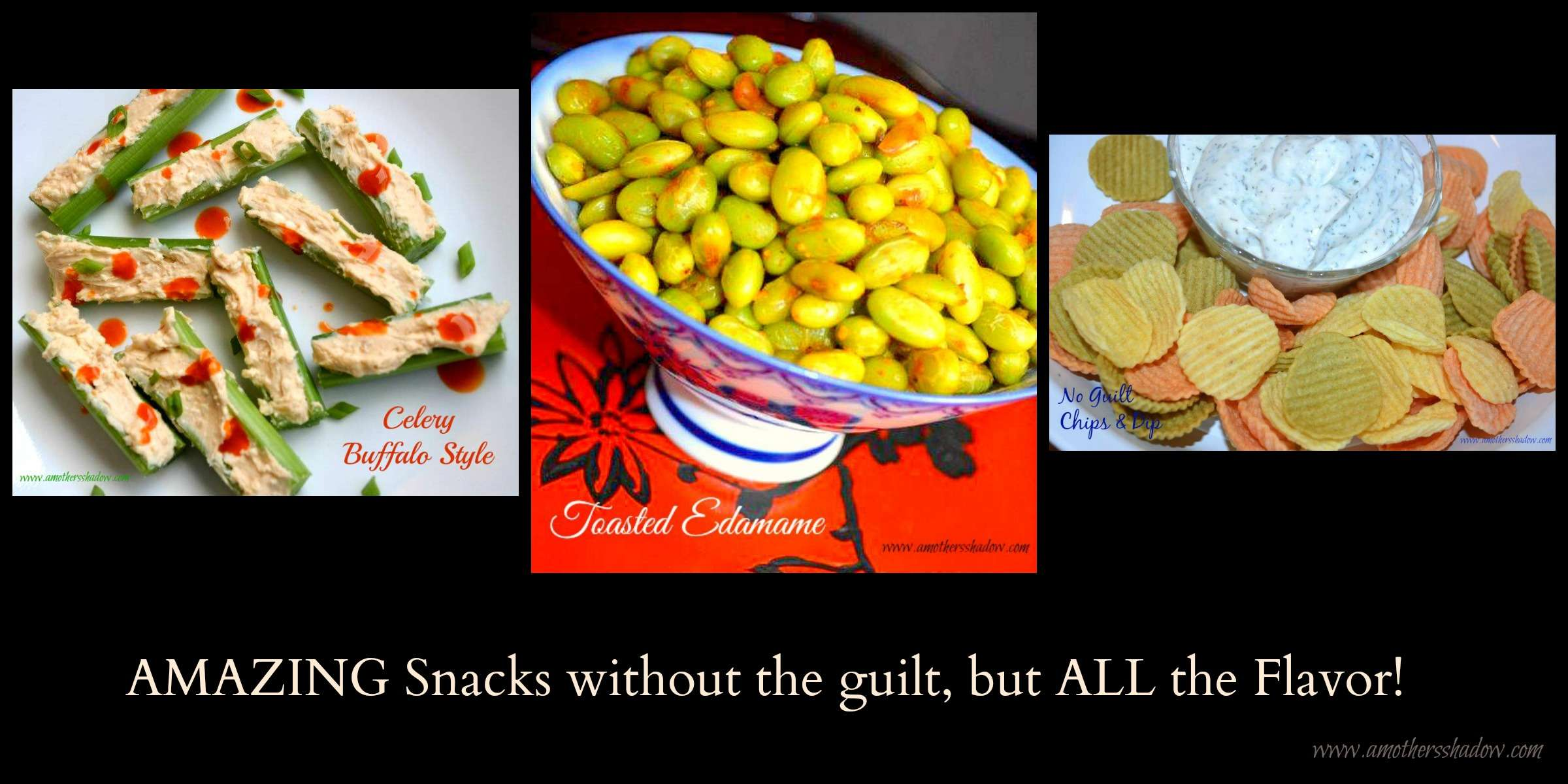 3 AMAZING Guilt-Free Low-Fat Appetizers or Snacks