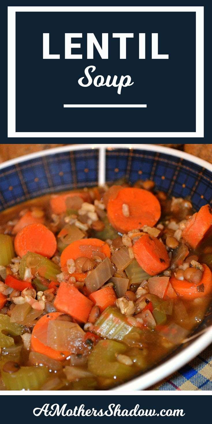 BEST Ever Lentil Soup