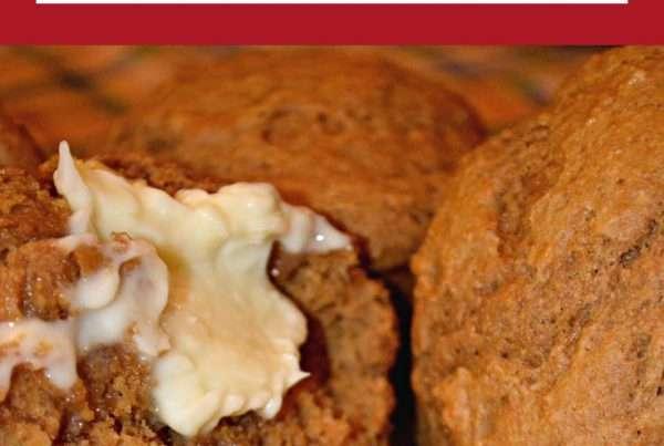 Amazing Whole Wheat Muffins