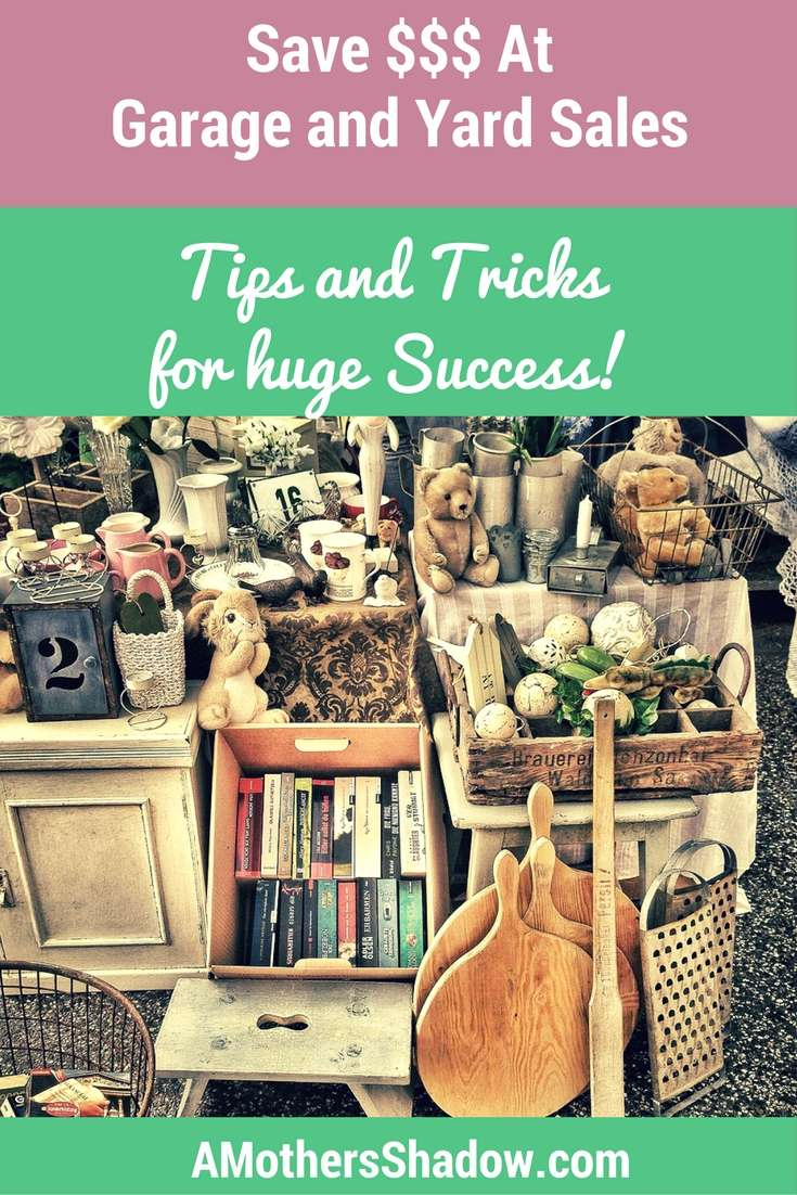 How To Shop Yard and Garage Sales