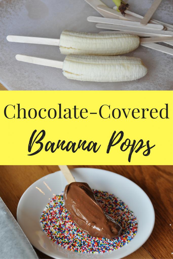 Banana's Dipped in Chocolate