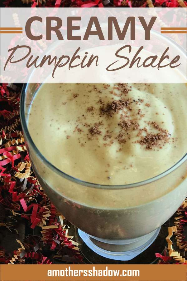 Creamy Pumpkin Shake