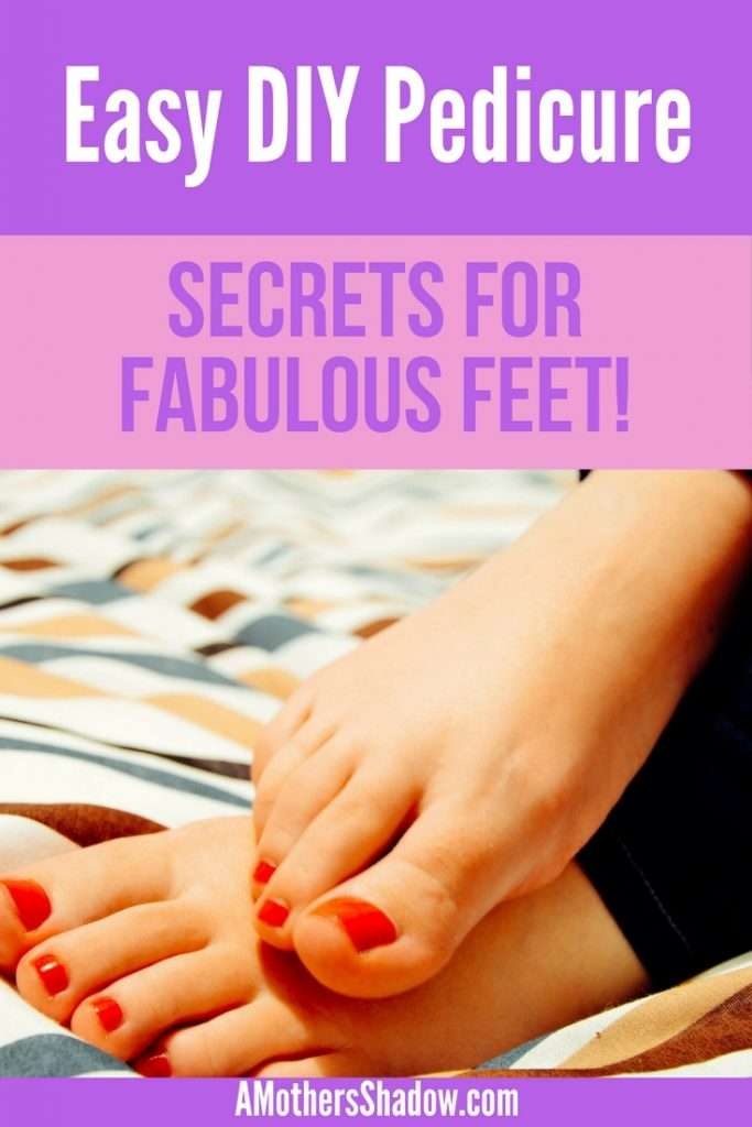 Home DIY Pedicure and healthy toes
