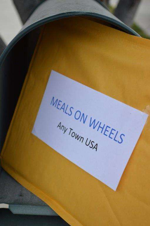 Greeting Cards for those who receive meals on wheels services