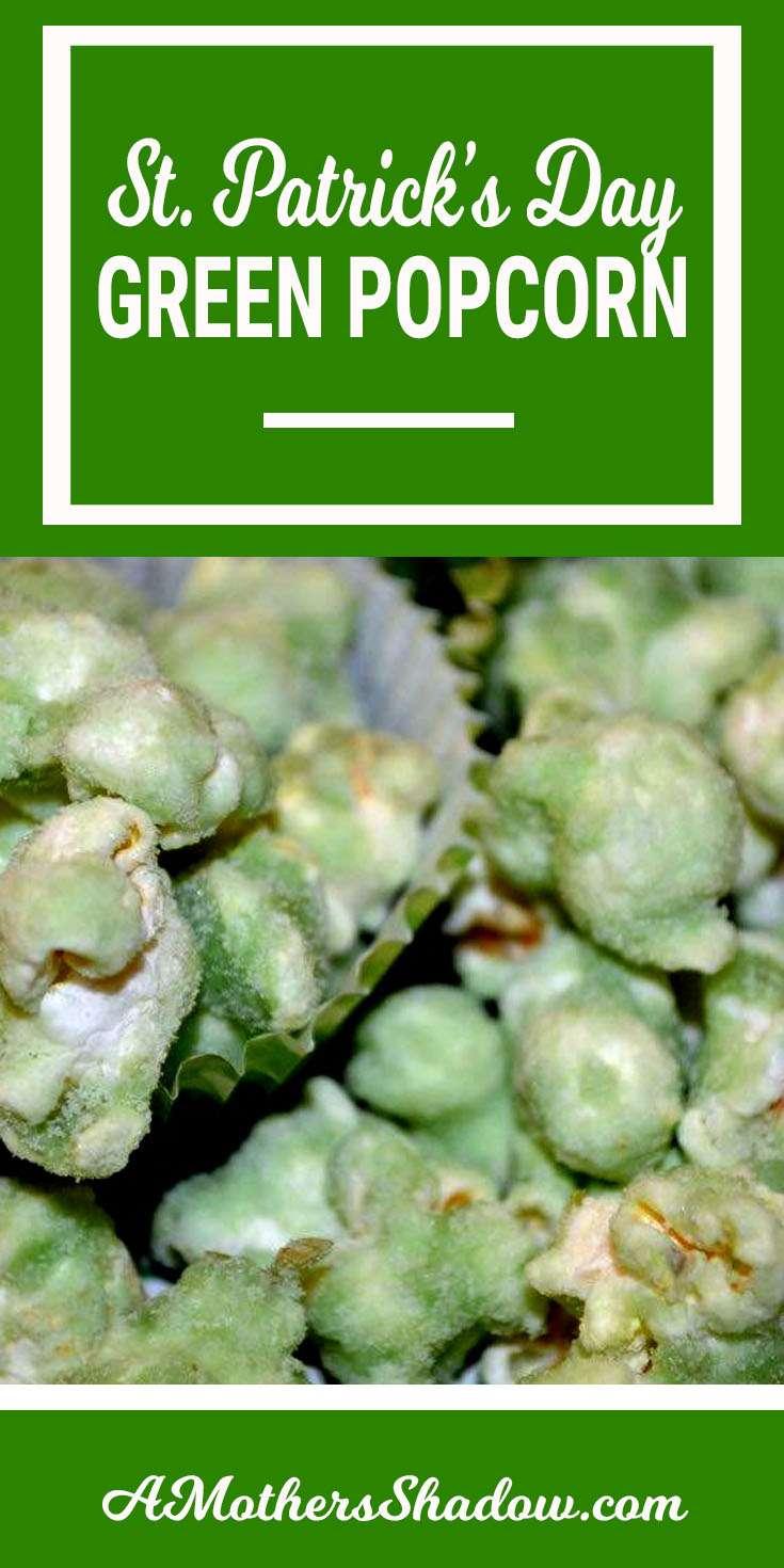 St. Patrick's Green Pop Corn