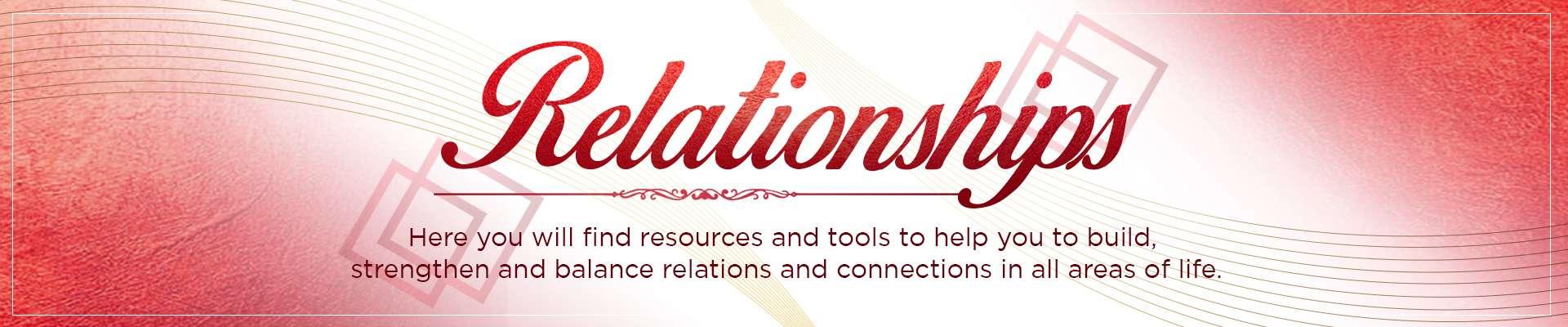 Relationships Banner